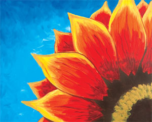 Red Sunflower II