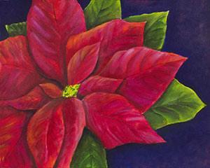 Red Poinsettia I