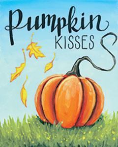 Pumpkin Kisses