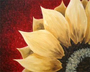 Red Sunflower I