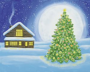 Cozy Christmas Cabin
