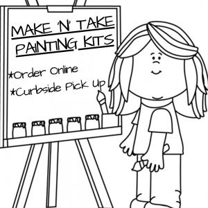 Make N Take Painting Kits for Kids